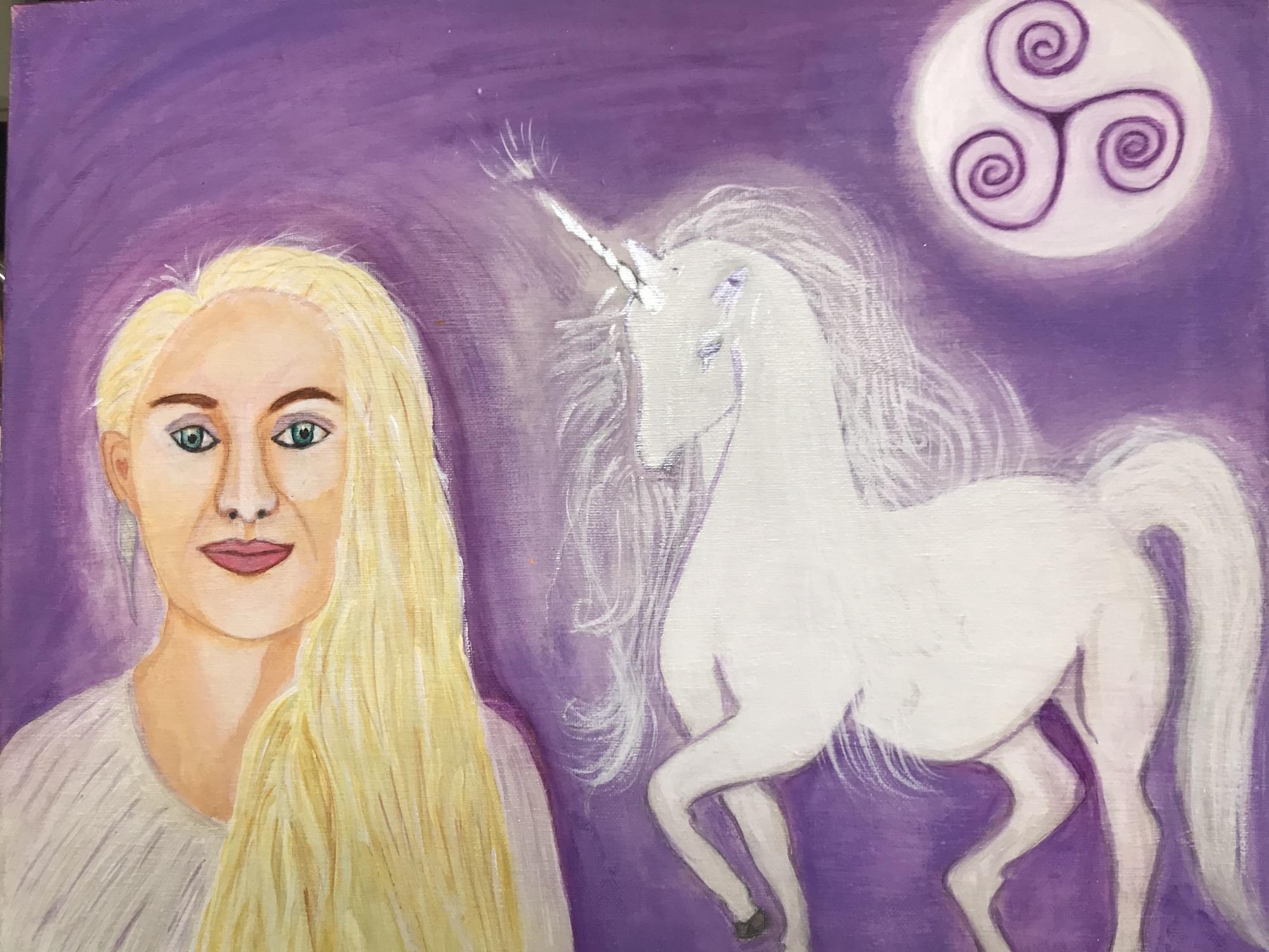 Painting Priestess: Le'ema Kathleen Graham